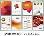 abstract vector backgrounds and ... | Shutterstock .eps vector #294168113