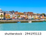 trouville  france   jun 7  2015 ... | Shutterstock . vector #294195113