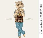 Fashion Animal Illustration ...