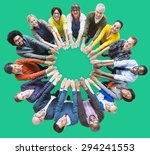 people unity community... | Shutterstock . vector #294241553