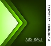 green triangle background... | Shutterstock .eps vector #294263513