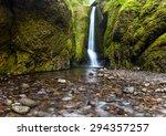 oneonta falls in summer ... | Shutterstock . vector #294357257