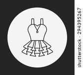 dress line icon | Shutterstock .eps vector #294395267