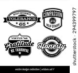 badge label collection with... | Shutterstock .eps vector #294399797
