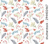 elegant seamless pattern with... | Shutterstock . vector #294402467
