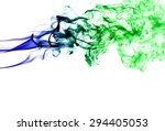 abstract colorful smoke on...   Shutterstock . vector #294405053