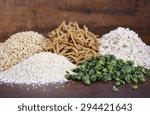 stack of healthy high fiber... | Shutterstock . vector #294421643