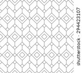 Seamless geometric pattern. Geometric simple print. Vector repeating texture. | Shutterstock vector #294423107