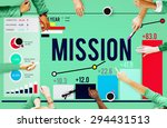 mission goal inspiration... | Shutterstock . vector #294431513