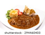 mole with chicken | Shutterstock . vector #294460403
