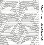 white  gray modern geometric...   Shutterstock .eps vector #294463907