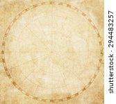 old vintage map  blank | Shutterstock . vector #294483257