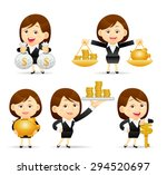 vector illustration   cartoon... | Shutterstock .eps vector #294520697