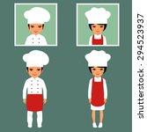 vector cooking illustration ... | Shutterstock .eps vector #294523937