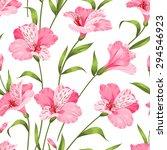 beautiful alstroemeria on... | Shutterstock .eps vector #294546923