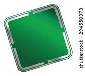 green blank square metallic...