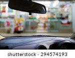 look out the car window to see... | Shutterstock . vector #294574193