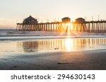 Huntington Beach Pier Sunset A...