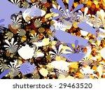 an artistic colored fractal... | Shutterstock . vector #29463520