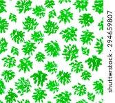 vector watercolor seamless... | Shutterstock .eps vector #294659807