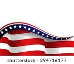 american flag | Shutterstock . vector #294716177
