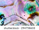iridescent nacre mother of... | Shutterstock . vector #294758633