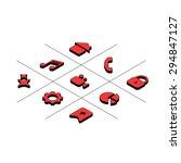 vector isometric icon set. web