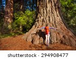 Small photo of Woman with straight arms in Redwood California