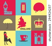 london united kingdom  flat...   Shutterstock .eps vector #294924257