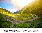 landscape from the fagaras...   Shutterstock . vector #294937937