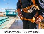 Builder Worker In Safety...