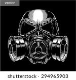 black and white engrave... | Shutterstock .eps vector #294965903