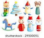 design elements set 3 toy   Shutterstock . vector #29500051