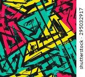 urban spiral seamless pattern... | Shutterstock .eps vector #295032917