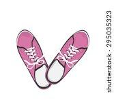 Bright Pink Sport Gumshoes....
