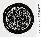 social link doodle | Shutterstock .eps vector #295043873