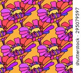 seamless colorful pattern with... | Shutterstock .eps vector #295079597