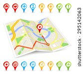 a full vector 3dlike generic... | Shutterstock .eps vector #295142063