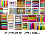 colorful modern text box... | Shutterstock .eps vector #295158833