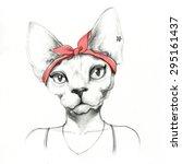 Fashion Animal .watercolor...