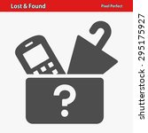 Lost   Found Icon. Professiona...