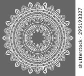 mandala  tribal ethnic ornament ... | Shutterstock .eps vector #295193327