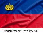 liechtenstein flag on soft and...   Shutterstock . vector #295197737
