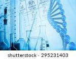 background  lab  chemistry. | Shutterstock . vector #295231403