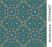 ornamental abstract vector... | Shutterstock .eps vector #295246607