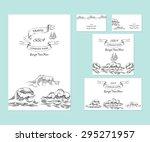 template corporate identity... | Shutterstock .eps vector #295271957