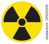 radioactive sign | Shutterstock .eps vector #295292543