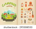camping elements | Shutterstock .eps vector #295308533