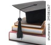 Graduation Cap And Book...