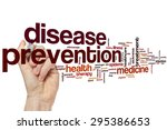disease prevention word cloud... | Shutterstock . vector #295386653
